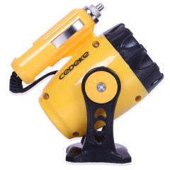 车德克(CEDEKE)  磁铁式LED照明灯车用工作灯车载维修灯汽车应急灯 黄色 DK-5607