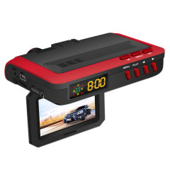 第1现场D7000 测速 电子狗 安全预警仪行车记录仪一体机 高清行车记录仪