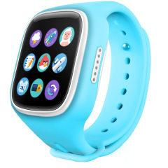 珂紫多功能时尚智能定位儿童手表 蓝色 触摸屏