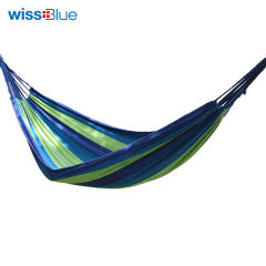 wissblue 维仕蓝 WA8053 单人双人加厚帆布吊床 户外野营秋千 蓝色 单人
