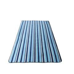 wissblue户外郊游野餐垫防潮地席 WA8055L 蓝条纹 蓝色 200*150CM