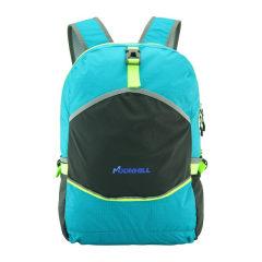 MoonHill 折叠包户外皮肤包双肩背包 女 便携旅行包可收纳双肩包男