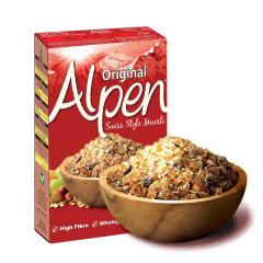 欧倍瑞士风味燕麦干果早餐(原味)375g 全谷物高纤维 英国进口