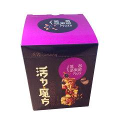 沃隆每日坚果新品上市 活力魔方蓝莓坚果脆盒装175g 休闲零食礼包 175g蓝莓味