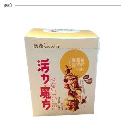 新品沃隆坚果 活力魔方蔓越莓坚果脆盒装 175g 175g蔓越莓味