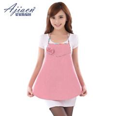 ajiacn 爱家特价防辐射内穿肚兜3002 纯粉色 均码