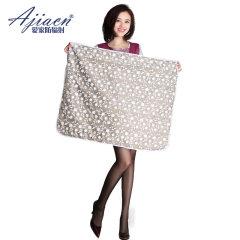 AJIACN/爱家 防辐射服 三层可拆卸银纤维孕妇防辐射盖毯 10091 银色 均码