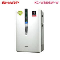 SHARP夏普空气净化器家用KC-W380SW-W除甲醛雾霾除病毒消毒机