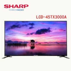 夏普(SHARP)LCD-45TX3000A新品45英寸原装进口面板网络智能平板电视 歌手版