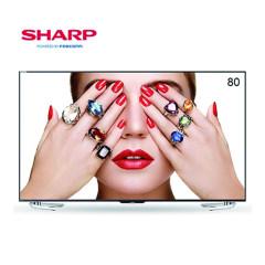 SHARP 夏普 LCD-80X818A 80英寸4k超高清网络智能液晶平板电视机