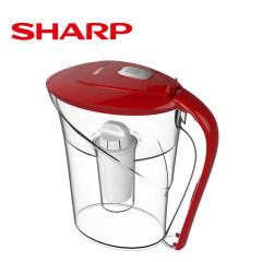 夏普(SHARP)FS-E10A-W 家用滤水壶 净水壶 海洋系列