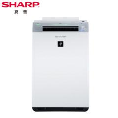 夏普(SHARP)空气净化器KI-GF60-W家用除甲醛PM2.5烟尘异味杀菌加湿智能