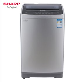 夏普(SHARP) 8KG波轮全自动家用洗衣机 XQB80-5708W-H