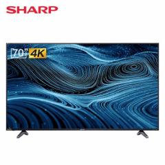 夏普(SHARP)G70FL 70英寸4K超高清智能网络液晶平板电视机(买即送智能门锁)