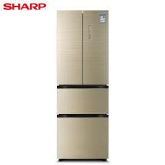 夏普(SHARP) 327升 法式多门 风冷无霜  PCI净离子技术 BCD-327WFPE-N
