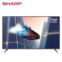 夏普(SHARP)70B3RM 70英寸 日本原装面板4K超高清 智能网络液晶电视机