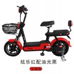 澳柯玛19新款电动车国标系列-G66-3C 炫乐红配油光黑