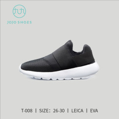 春夏儿童款莱卡懒人鞋(黑色) 黑色 25
