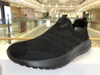 网孔透气超轻休闲鞋时尚款男 黑色 40