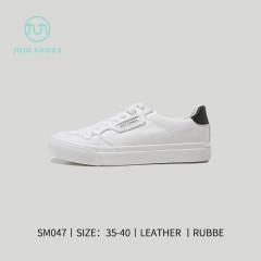 韩风小白鞋黑白女款 白黑 35
