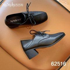女单小皮鞋 黑色 36
