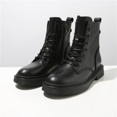网红厚底马丁靴 黑色 36