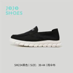 男款一脚蹬懒人鞋 黑色 40