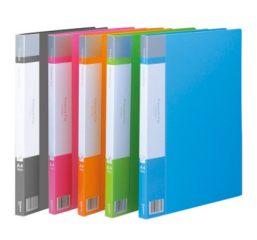 齐心文件夹A680(A40)欢颜轻便夹 单夹蓝色 蓝色