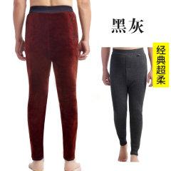 天鸿雅达中老年男士保暖裤 3101 黑灰 L