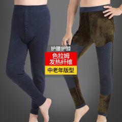天鸿雅达中老年  男保暖裤单件  32613-1 蓝灰 XL