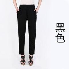 天丝爆冰裤,一穿立降5°,轻薄透气 黑色 XL