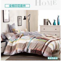 维科家纺 床品四件套  全棉印花四件套 床单 被套 枕套-千与千寻