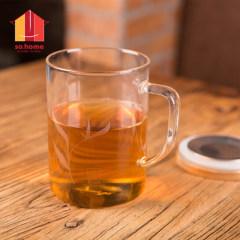 So.home 风尚竹木系个人杯 玻璃杯 办公杯C501-H