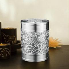 泰芝宝 国色天香锡罐  茶叶罐 香烟罐 密封罐 泰国纯锡工艺品TL713