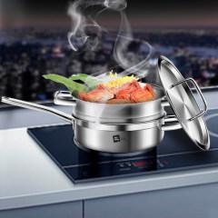 米技 西式煎锅带蒸格套装SS24-BC-TZ