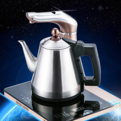 越一 全智能烧水壶 电热水壶 自动上水壶K11 钛金