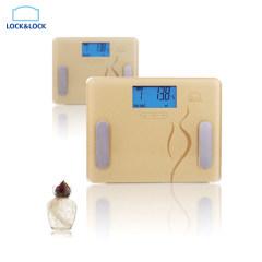 乐扣乐扣 健康尚美脂肪人体秤 电子秤LSC-C61FU