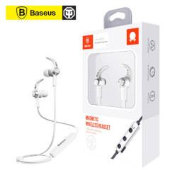 倍思 俪彩磁吸入耳式蓝牙耳机NGB11 银白色