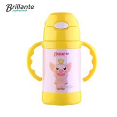 贝立安 皮皮弹跳手柄杯儿童不锈钢保温杯 真空杯 BJH-BW2601
