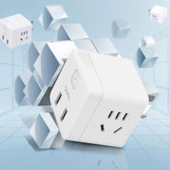公牛 无线魔方 插座 插排 插线板 排插 接线板 USB接口U9B122