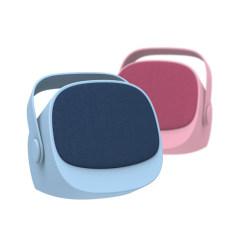 奇点 便携无线蓝牙音箱  低音炮 户外便携音响 迷你小音箱 M2T 单个粉色 音箱