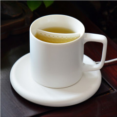 麦极客 55°茶饮杯 无线充电 无线加热 陶瓷杯子商务杯