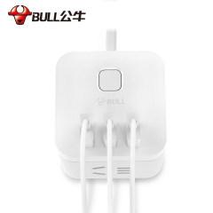 公牛 魔方USB插座 电源线 排插 插排 接线板 拖线板 充电器 智能保护U8303U