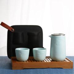 湖畔居 青瓷泡茶宝  旅行茶具 茶具套装HCJ1180101