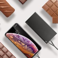 倍思 巧克力移动电源 充电宝 黑色 PPALL-QK1G 黑色