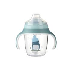 babycare学饮杯宝宝吸管杯210ml 儿童水杯防漏防摔玩趣杯2680 绿色 210ml