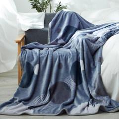 梦洁美颂 法兰绒毯-贝加尔湖畔  1050500944毯子 毛毯