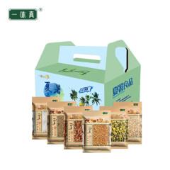 一味真 防暑降温礼盒118型(杭白菊、苦荞茶、陈皮、大麦茶、荞麦米、冰糖)