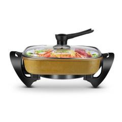 龙的 多功能电火锅 5L大容量 电煮锅LD-HG32D