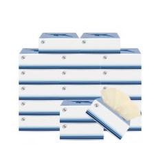 简舍 生命律动系列天然竹浆本色抽纸20包/箱装JS-7035-20纸巾